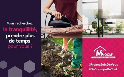 MS DOM', entreprise de ménage et services à la personne sur Angers et alentours